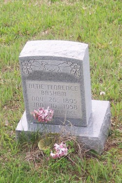 Altie Florence Basham