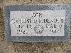 Forrest D Ridenour