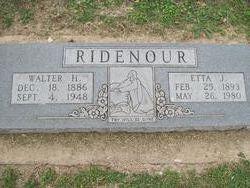 Etta Jane <i>Walker</i> Ridenour