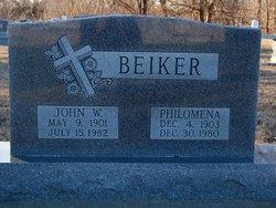 John W Beiker