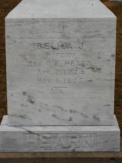 Delila J <i>Ewing</i> Hearn