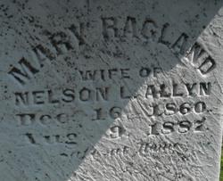 Mary A. <i>Ragland</i> Allyn