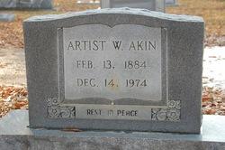 Artist Bumpsy <i>Walker</i> Akin