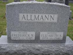 Elizabeth <i>King</i> Allmann