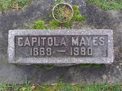 Sarah Capitola Cap <i>Hartman</i> Mayes