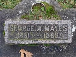 George W Mayes