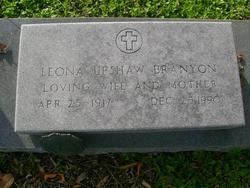 Leona Alfreda <i>Upshaw</i> Branyon
