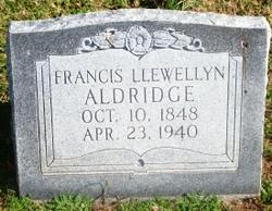 Francis Llewellyn Frank Aldridge