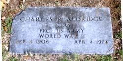 Charles R. Charlie Aldridge