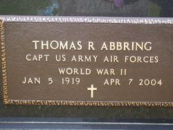 Thomas R Abbring