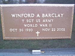 Winford A Barclay