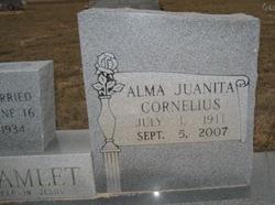 Alma Juanita <i>Cornelius</i> Bramlett