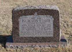 Pvt Austin E Luce