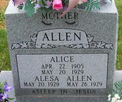 Alesa Irene Allen