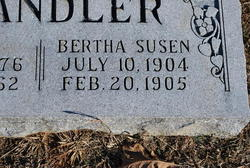 Bertha Susen Chandler