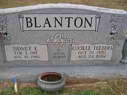 Lucille <i>Teeters</i> Blanton