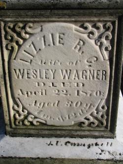 Elizabeth R. Lizzie <i>Campbell</i> Wagner