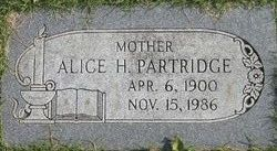 Alice Evelyn <i>Hurd</i> Partridge