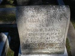Emmaline C. <i>Burnham</i> Davis