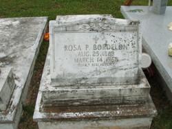 Rosa Mary <i>Pastor</i> Bordelon