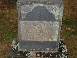 Bertie P <i>Austin</i> Kendall