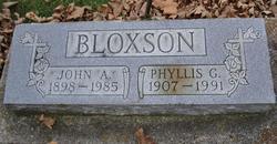 Phyllis Gertrude <i>Fisher</i> Bloxson