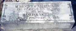 Manerva <i>Vaughn</i> Abercrombie
