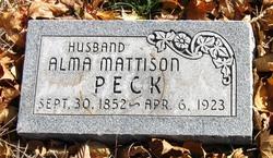 Alma Mattison Peck