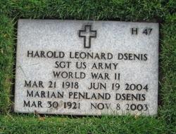 Harold Leonard Dsenis
