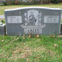 Gertie L <i>Cox</i> Ables