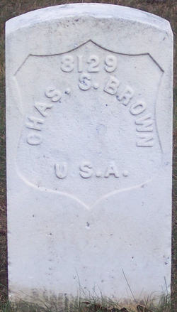 Private Charles S Brown