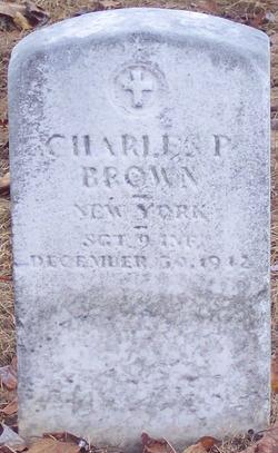 SGT Charles P Brown