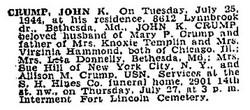 John Knox Crump