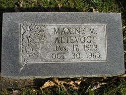 Maxine M <i>Jordan</i> Altevogt