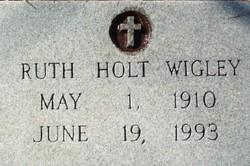 Ruth M. <i>Holt</i> Wigley