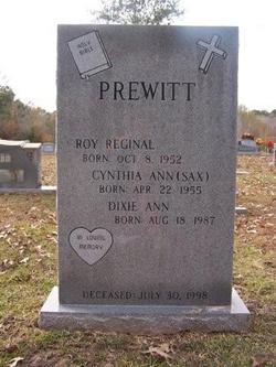 Cynthia Ann <i>Sax</i> Prewitt