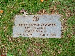 PFC James Lewis Cooper
