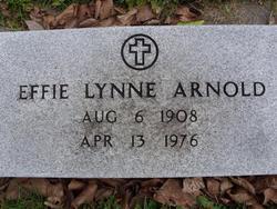 Effie 'Lynne' <i>Walker</i> Arnold