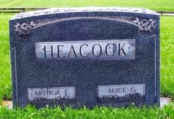 Alice <i>Godfrey</i> Heacock