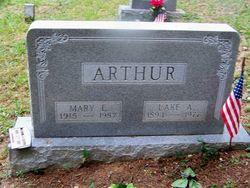 Mary Lewis <i>Snyder</i> Arthur