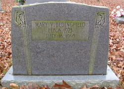 Mary V Bedingfield