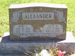 Ruby C. Alexander