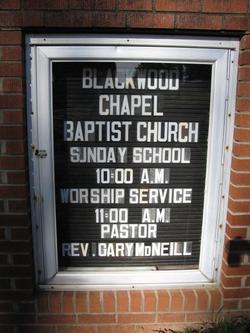 Blackwood Chapel Baptist Church Cemetery