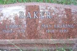 May M <i>Erskine</i> Baker