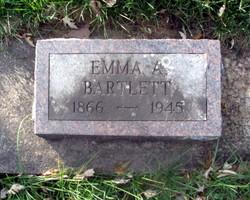Emma A E <i>Cole</i> Bartlett