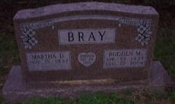 Rodden M Bray