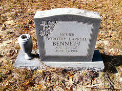 Dorothy <i>Carroll</i> Bennett