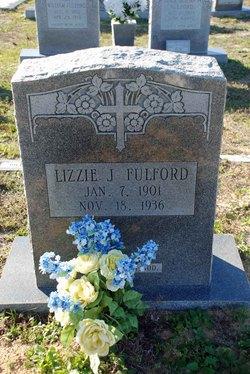 Lizzie Jane <i>Roach</i> Fulford