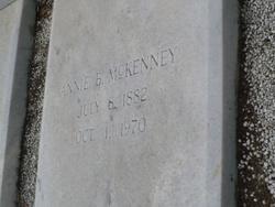 Annie B McKenney