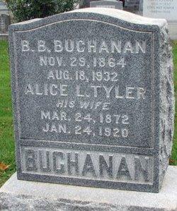 Alice L <i>Tyler</i> Buchanan